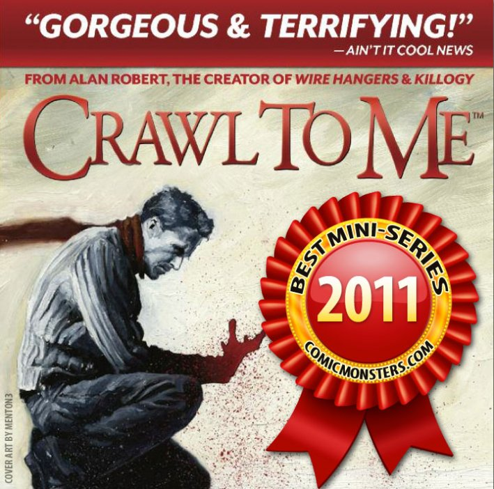Crawl to Me Comic Voted Best Mini-Series of the Year